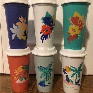 Starbucks Reusable Hot Cups Summer 2020 NEW